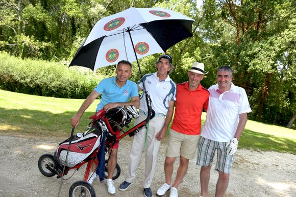 15. Mehmet Meric, Alexandre Gonzalez, Nicolas Trompille et Michel Chenevat