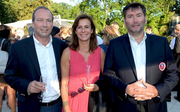 16. Michel de Lanversin (A3R), Joëlle Berjon (Centre Pilates) et Gilles Soucheleau (A3R)