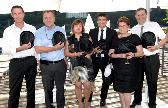 16. L'équipe de DS Automobiles et Edouard Gigleux (Peugeot Slica)