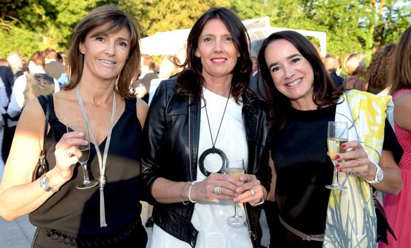 17. Anne Soucheleau (Air France), Corinne Dépagneux et la consultante Pascale Mohannedi