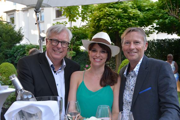 17. Peter Biehe (Scan Team), Hélène Fourriere (Warwick Reine Astrid) et Patrice Auguy (Eau du Grand Lyon)