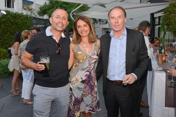 18. Gilles Taraquois (sophrologue), Valérie Thomas (Lyon People) et Yves Rioton (Séminaires Business Events)
