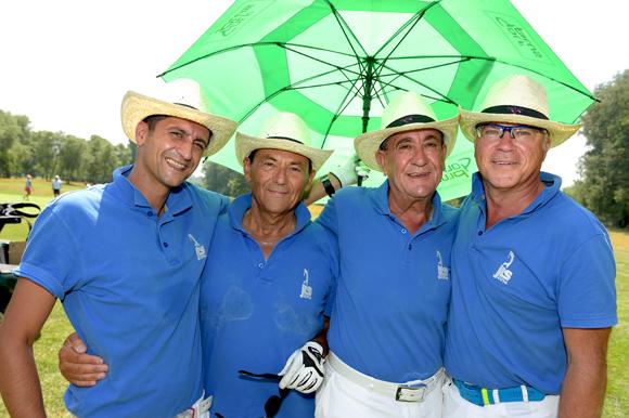 19. David Soriano, Michel Jouve, Jean-Louis Soriano et Jean-Paul Camacho