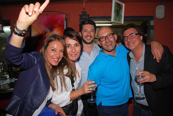 19. Karine Turcas, Christelle Cimetière (EMC), Jérôme Murgia (BMW), Philippe Greusset (Isis) et Franck Turcas