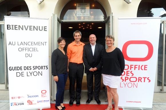 Lancement du guide des sports de lyon 2015 - Office des sports de lyon ...