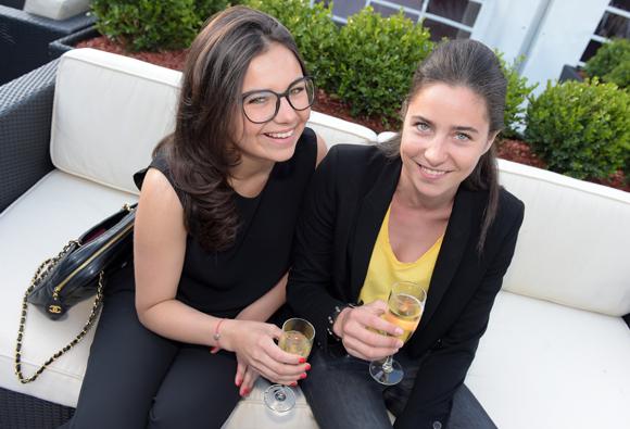 20. Rosalie Cellerier et sa sœur Lauren