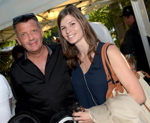 21. Thierry Bouchet (Champagne de Venoge) et Morgane Metaillier (Sofitel Bellecour)