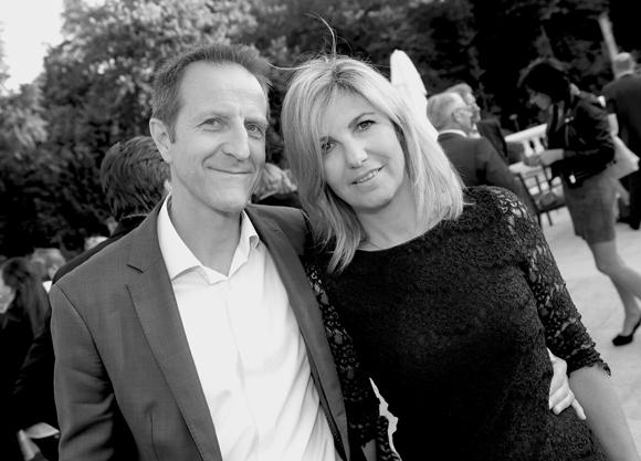 21. Serge Vanuxem (Air France) et Anne Durantet (AD Consult)