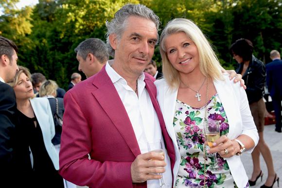 22. Yves Caillon et son épouse Béatrice (Eurocapi)