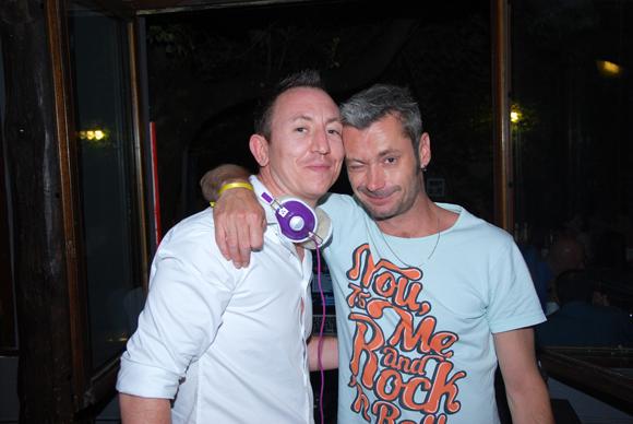 22. Damien (Due) et Esteban, le DJ