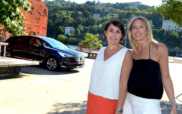 2. Christelle Cimetière (EMC) et Aline Germain (DS Automobiles)