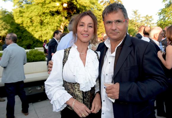 23. Karine Chapochnik (Chapcom Média) et Jean-Philippe Caffiero (Médicréa)