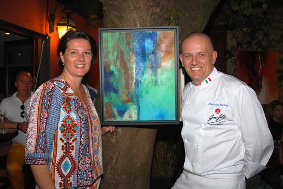 2. L'artiste peintre et Maurizio