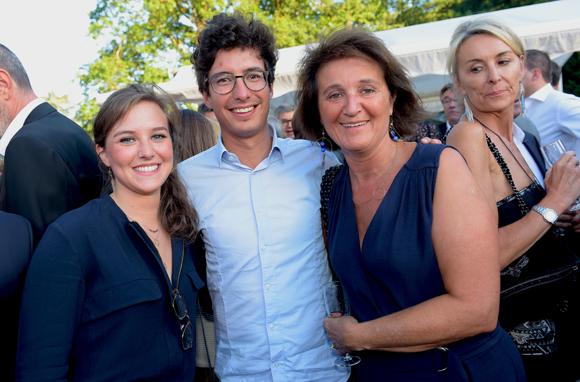24. Cléa Bernard (La Rotonde), Baptiste Sabran (Hospices Civils de Lyon) et Sandrine Bernard (Polyver)