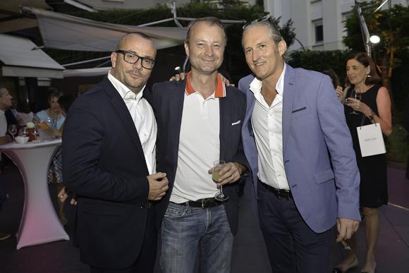 29. Jérome Billy (Warwick Reine Astrid), Marco Polisson (Lyon People) et Pascal Auclair (FMI)