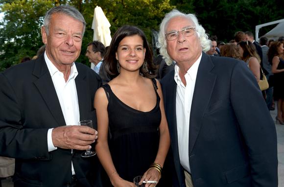 31. Jean-Charles Demichel, sa petite-fille Carla Liucci et son second grand-père Marcel Liucci