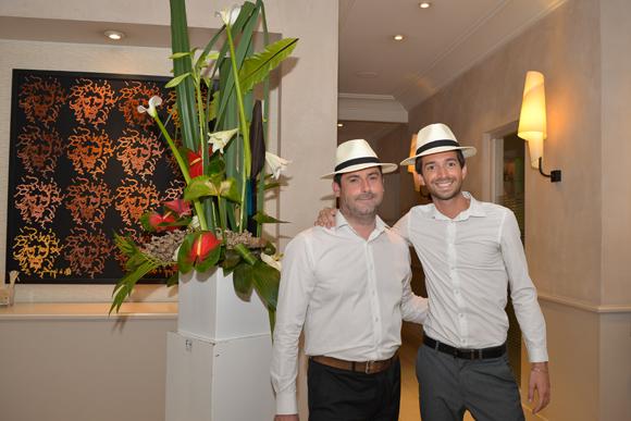 3. Nicolas (Warwick Reine Astrid) et Romain, fleuriste chez Franck Hernandez