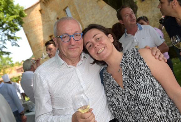 3. Jean-François Mesplède (Guide Lyon Restaurant) et Juliette Darras (Le Caro de Lyon)