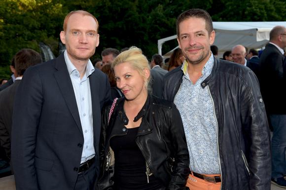 32. Olivier Cohn (Best Western), Marie Rigaud-Bernollin (Printemps de Pérouges) et Arnaud Bernollin (Cuisines Bernollin)