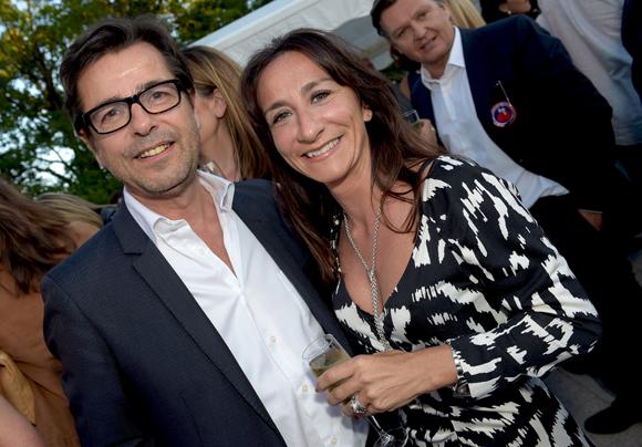 33. Emmanuel Hamelin et son épouse Olivia, conseillère du président du Conseil départemental du Rhône