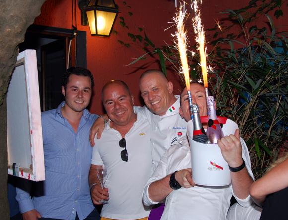 3. Guillaume Pautrot et Jean Burdy (Mumm), Maurizio et Damien (Due)