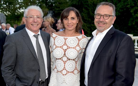 35. Elie Cunat, DG du Groupe Gauduel, Véronique César (IF2M) et son époux Eric (Legi)