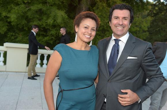 36. Pierfrancesco Carino (Emirates) et son épouse Solandy