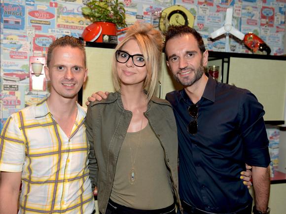 41. Jeremy Prudent (Castorama), sa sœur Amélie (SCCSA) et Georges Ferreira (Groupe Vulcain)