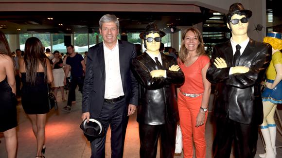45. Thierry Glories, président de TGL Group-Floriot et son épouse Maitre Corinne (BDMV Avocats)