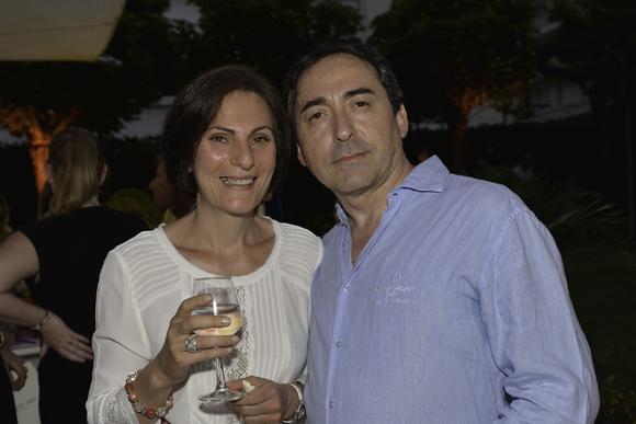 47. Emmanuelle Foucher (Colgate) et Christian Fernandez (Cenntro)