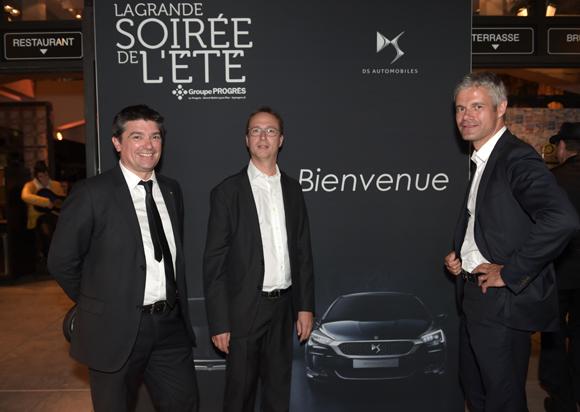 47. Philippe Menguy, Christophe Nobis (DS Automobiles) et Laurent Wauquiez