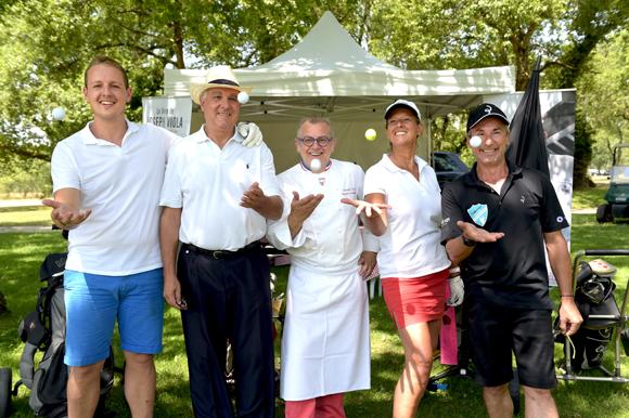 5. Antoine Miquet, Christian Sabatier, Joseph Viola, Stéphanie Moreau et Eric Boiron