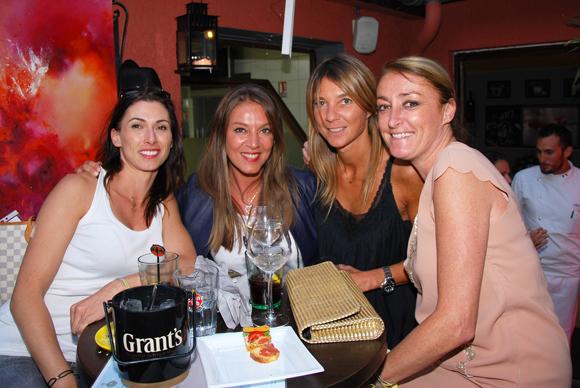 5. Maryline Meunier (CGPME), Karine Turcas, Axelle (Lyon People) et Severine Mazuy