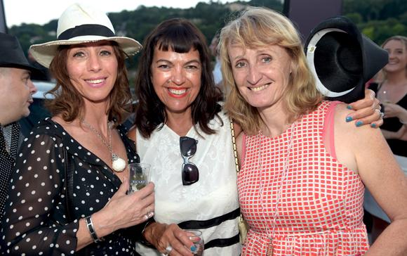 59. Karine Chapochnik (Chapcom Média), Laurence Renaudin et Marie-laure Reynaud (High Garden)