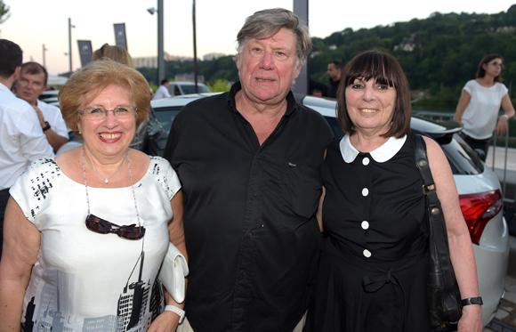 60. Evelyne Haguenauer, le docteur Jean Renaudin et Nadine Gelas