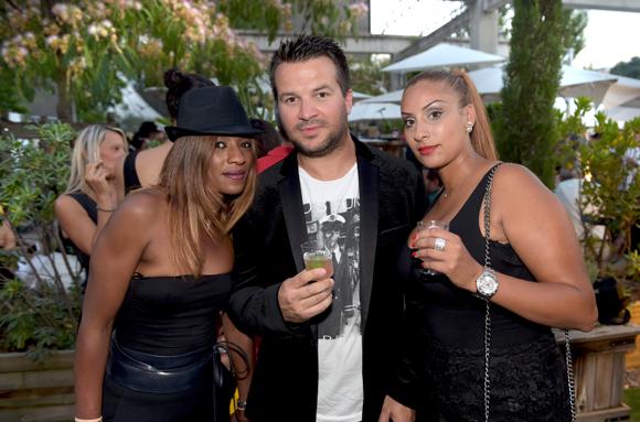 62. Monique Milla (MM Esthétique), Damien Huillard (Orangina Schweppes) et Jihad Abdrabi (MM Esthétique)