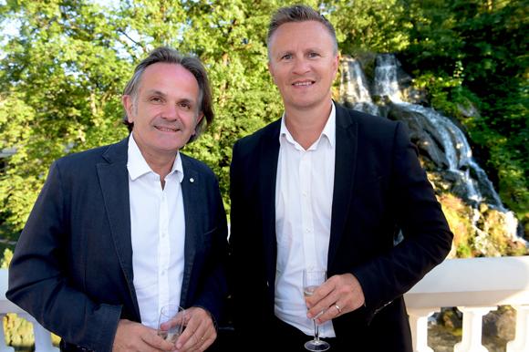 6. Bertrand Delorme (Sideo) et Franck Chapon, directeur des UGC Lyon