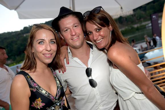 63. Audrey Monnot (Casino le Lyon Vert), Mathieu Renaud (LOU Rugby) et Candice Augugliaro (Le Progrès)