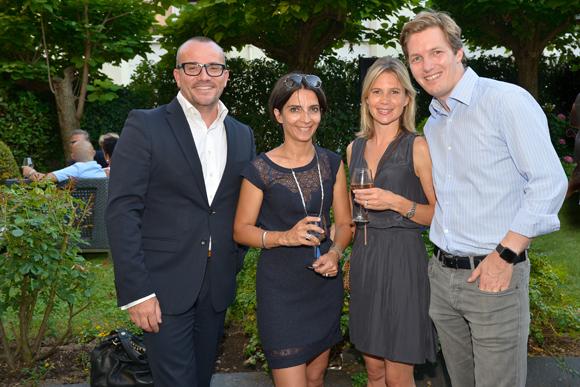 6. Jérome Billy, directeur du Warwick Reine Astrid, Hélène Couderc (Scaprim), Maud et Alexandre Jeannerod (Euro Sono)