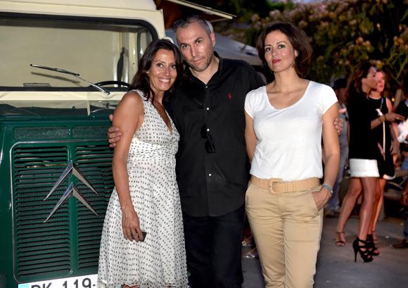67. Florence Guyot (Champagne Marguerite Guyot), Fabrice (Lyon People) et Sonia Philippot (Jeïto Bijoux)