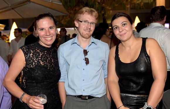 69. Maud Epinette (Réputation VIP), Franck Boucaud-Maître (Chocolat Voisin) et Marion Fabre (INSEEC)