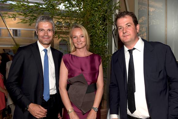 Inauguration de montcelard - Laurent bignolas et son epouse ...