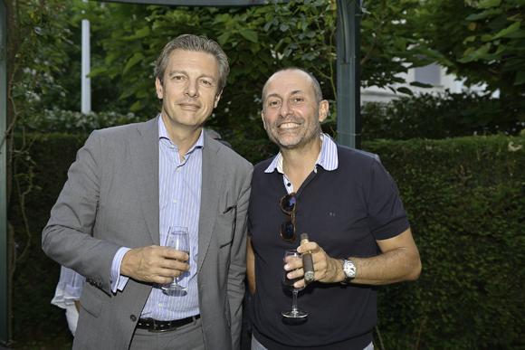 7. Pascal Blache, maire du 6e et Gilles Taraquois (sophrologue)