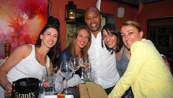 8. Maryline Meunier (CGPME), Karine Turcas, Cisco, Isabelle Molin (Le Patio restaurant) et Severine Mazuy