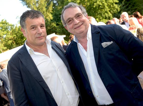 8. Gilles Demange (Orosa) et le chef Gilbert Reboul (Golf Club de Lyon)