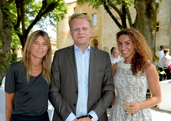 8. Axelle Lamiche (Lyon People), Emmanuel Comble et Malya Zaim (Clés du Luxe)