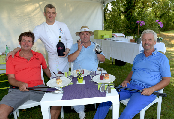 8. Hervé Bal, Laurent Bouvier, Jean-Jack Bertrand et Richard Bret