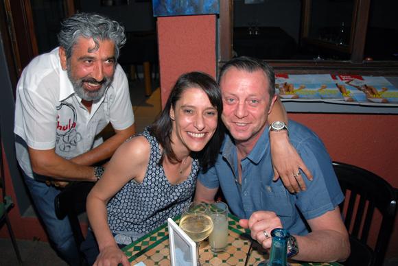 9. Andrea, Isabelle et Pierre Molin (Le Patio restaurant)