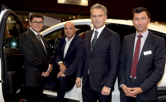 11. Frédéric Blanc (Mercedes-Benz & smart Lyon), Jérôme Bocuse, Paul-Maurice Morel (Brasseries Bocuse) et Laurent Bernardeau (Mercedes-Benz Lyon & smart)