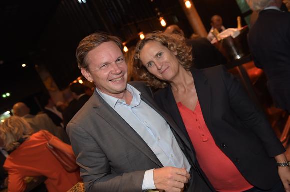 12. Franck Olivié (Cegid) et Guillemette Goyard (Candia)